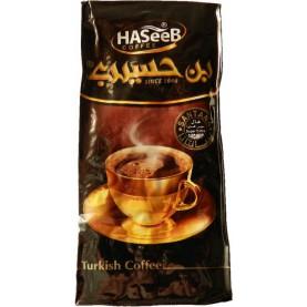 Turecká káva 30 % kardamón 500g -HASEEB Coffee black