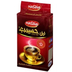 Turecká káva 10 % kardamón - HASEEB Coffe  RED Medium Cardamon