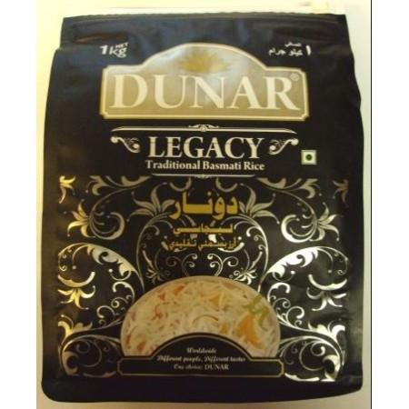 Ryža Basmati Legacy 1 kg - DUNAR