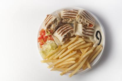 Kebab tanier - menu