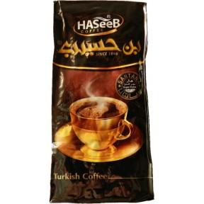 Turecká káva 30% kardamón 200g - HASEEB Coffee Black