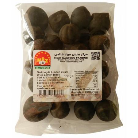 Sušené čierne citróny 150g - N&A Eastern Trading
