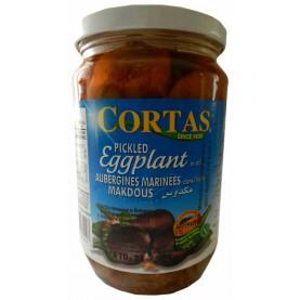 Plnený baklažán v rastlinnom oleji 670g - CORTAS
